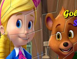 Goldie si Ursulet Puzzle Rotativ