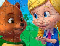 Goldie si Ursulet Puzzle