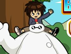 Hiro si Baymax Aventura in Oras