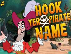 Hook si Numele tau de Pirat