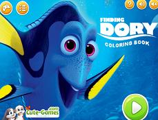 In Cautarea lui Dory Carte de Colorat