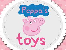 Jucariile lui Peppa Tetris