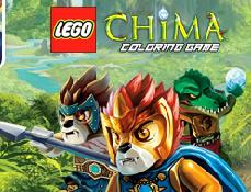 Lego Chima de Colorat