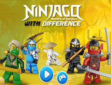Lego Ninjago Diferente