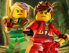 Lego Ninjago Kai in Labirint