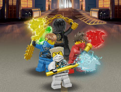 Lego Ninjago in Defensiva