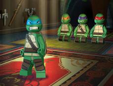 Lego Testoasele Ninja Antrenament 3D