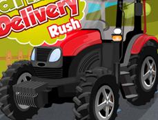 Livreaza cu Tractorul Rosu