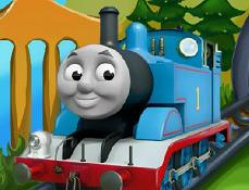 Locomotiva Thomas Transporta Fructe