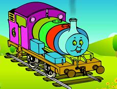 Locomotiva Thomas de Colorat