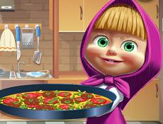 Masha Gateste Pizza cu Tortilla