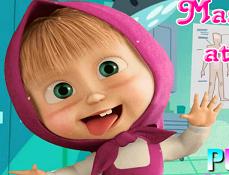 Masha Trucuri la Dentist