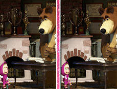 Masha si Ursul 6 Diferente