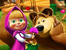 Masha si Ursul Decoreaza Casa