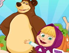 Masha si Ursul Distractie de Vara