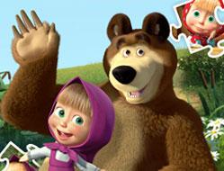 Masha si Ursul Puzzle Jigsaw