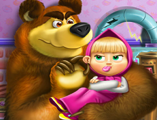 Masha si Ursul si Jucariile