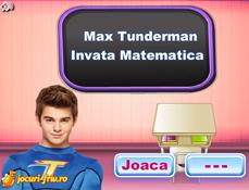 Max Thunderman Invata Matematica