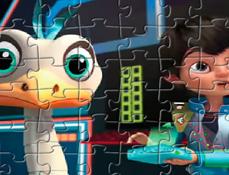 Merc si Miles in Spatiu Puzzle