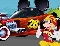 Mickey si Pilotii de Curse Puzzle 2