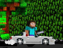 Minecraft cu Masina