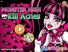 Monster High Distruge Acnea