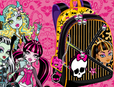 Monster High Ghiozdanul