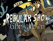 Mordecai si Rigbi in Orasul Fantomelor