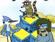 Mordecai si Rigbi pe Muntele Colorat