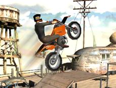 Motocicleta de Teren 3D