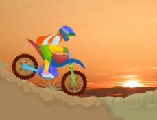 Motociclistul pe Tarm