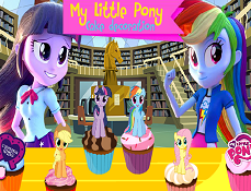 My Little Pony Equestria Decoreaza Tortul