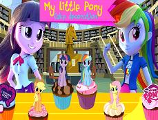 My Little Pony Equestria Decoreaza Tortul
