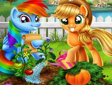 My Little Pony Gradina de Legume