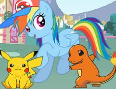 My Little Pony Joaca Pokemon Go