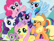 My Little Pony de Colorat