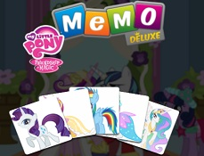 My Little Pony de Memorie Deluxe