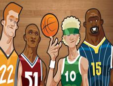 NBA Hoop Troop Aruncari la Cos