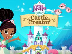 Nela Printesa Cavaler Creaza un Castel