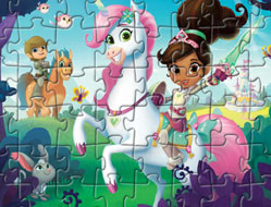 Nela Printesa Cavaler Puzzle