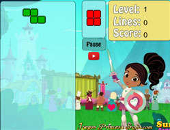 Nela Printesa Cavaler Tetris