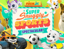Nick Jr Sport cu Animale