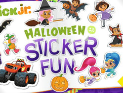 Nick Jr Stickere de Halloween