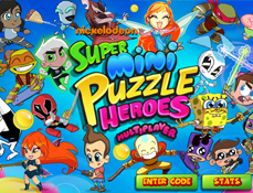 Nickelodeon Super Mini Puzzle Heroes
