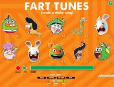 Nickelodeon de Facut Muzica cu Sunete Amuzante
