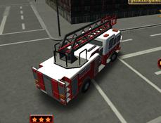 Parcheaza Camionul de Pompieri 3D