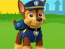 Paw Patrol Puzzle cu Chase
