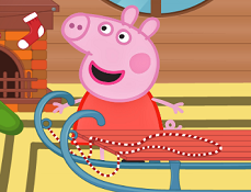 Peppa Decoreaza Sania