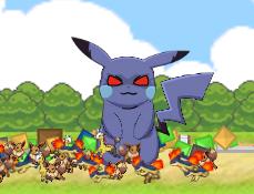 Pikachu Distruge Orasul