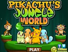 Pikachu si Aventura din Jungla